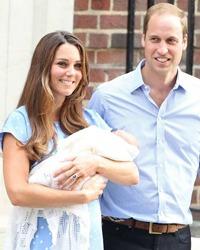 Ducesa Kate si Printul William au dezvaluit numele bebelusului regal