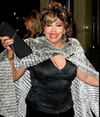 Tina Turner se pregateste sa imbrace rochia de mireasa