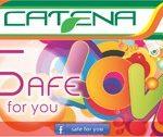 Fii safe si la buzunare cu cardul Safe for You by Catena!