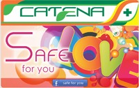 SUPER-REDUCERI IN FARMACIILE CATENA PRIN NOUL CARD SAFE FOR YOU!