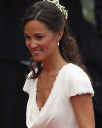 Pippa Middleton se pregateste sa imbrace rochia de mireasa