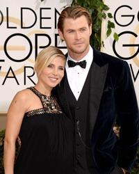Chris Hemsworth si Elsa Pataky au devenit parinti de gemeni
