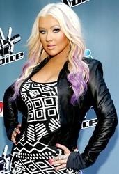 Christina Aguilera, pictorial nud in a noua luna de sarcina