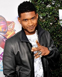 Cantaretul american Usher s-a logodit