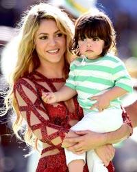 Shakira a devenit mama pentru a doua oara