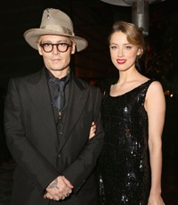 Johnny Depp si Amber Heard s-au casatorit