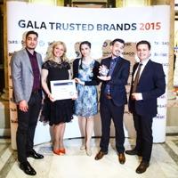 CATENA, premiată din nou la Gala Trusted Brands 2015, editia a X -a