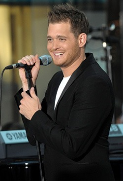 Michael Buble, din nou tatic