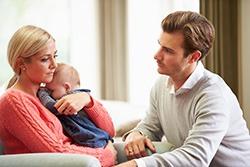 Ce gandeste o femeie despre tatal copilului ei