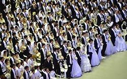 Casatorie in masa, in Coreea de Sud