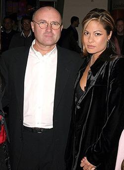 Phil Collins se recasatoreste cu a treia sotie
