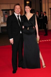 **ALL ROUND PICTURES FROM SOLARPIX.COM** **WORLDWIDE SYNDICATION RIGHTS** arrives at the Orange British Academy Film Awards at the Royal Opera House, London, UK. 10th February 2008. This pic: Jamie and Jools Oliver JOB REF: 5734 SSD     DATE: 10_02_2008 **MUST CREDIT SOLARPIX.COM OR DOUBLE FEE WILL BE CHARGED* *UNDER NO CIRCUMSTANCES IS THIS IMAGE TO BE REPRODUCED FOR ANY ONLINE EDITION WITHOUT PRIOR PERMISSION*