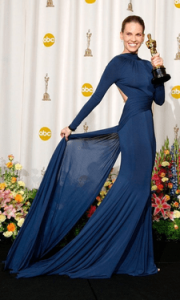 Actrita Hilary Swank se marita a doua oara