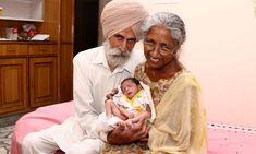 A devenit pentru prima data mama la varsta de 72 de ani