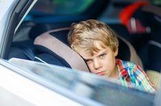 Raul de masina la copil
