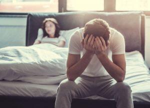 Cauze psihologice ale disfuncţiei erectile anerecţia