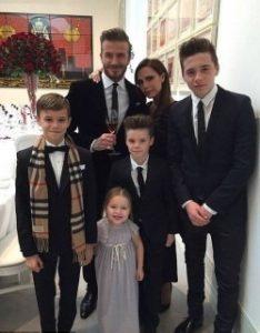 David si Victoria Beckham si-au reinnoit juramintele de casatorie