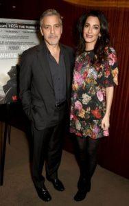 S-a confirmat: cuplul Clooney asteapta gemeni!