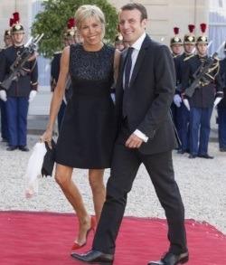Amor cu iz de telenovela la prezidentialele din Franta