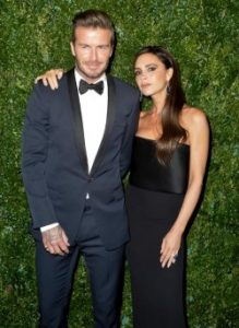Victoria si David Beckham au sarbatorit 18 ani de casatorie