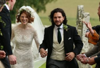 Kit Harington și Rose Leslie, actorii din Game of Thrones, vor deveni părinți!