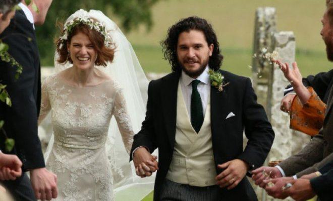 Kit Harington și Rose Leslie, actorii din Game of Thrones, vor deveni părinți!